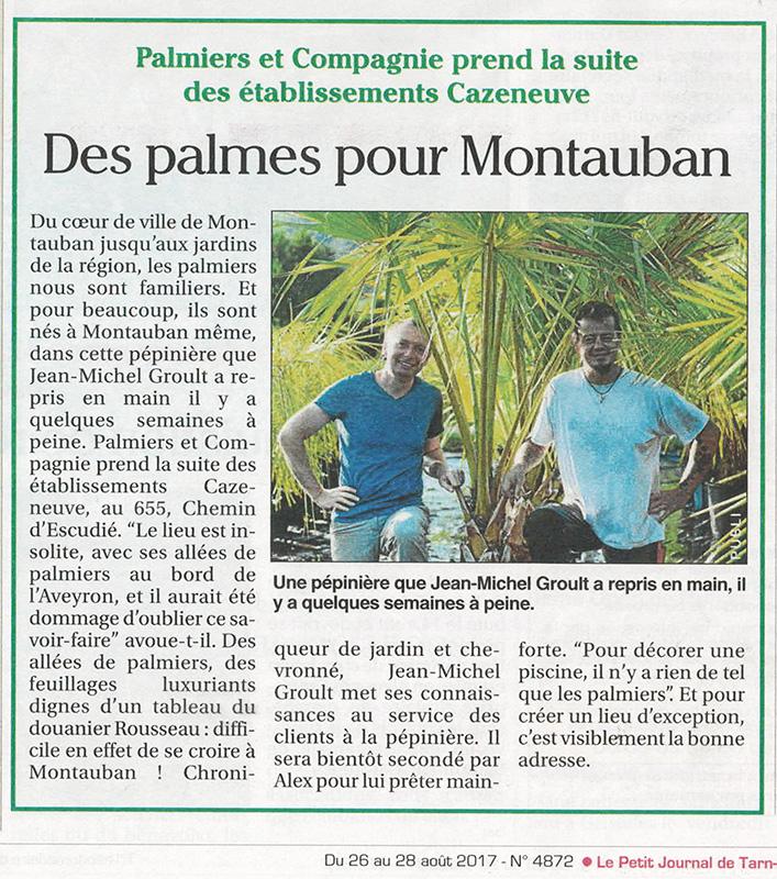 Le petit journal du Tarn-et-Garonne - août 2017