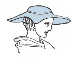 Pétase, chapeau grec ancien