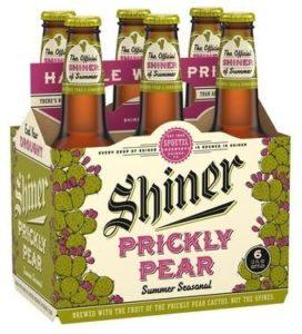 Bière Shiner, au jus d'Opuntia ficus indica