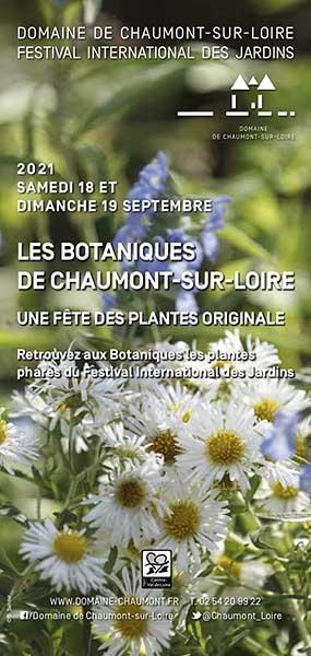 Affiche Les botaniques de Chaumont sur Loire 2021